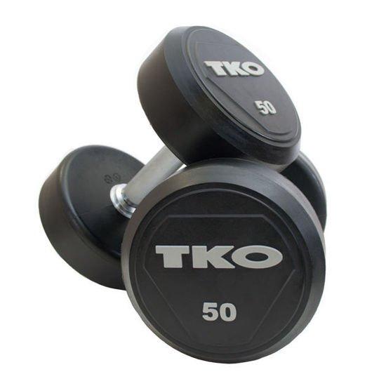 Hantla stalowa gumowana (K828RR) 4 kg TKO