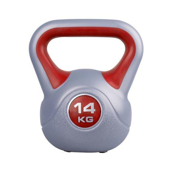 Hantla winylowa Kettlebell Insportline 14 kg
