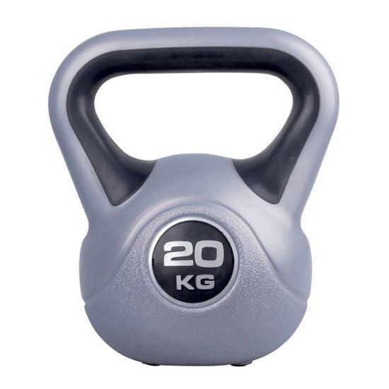 Hantla winylowa Kettlebell Insportline 20 kg