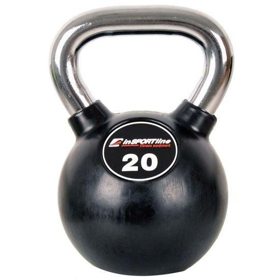 Hantla żeliwna Kettlebell Insportline 20 kg