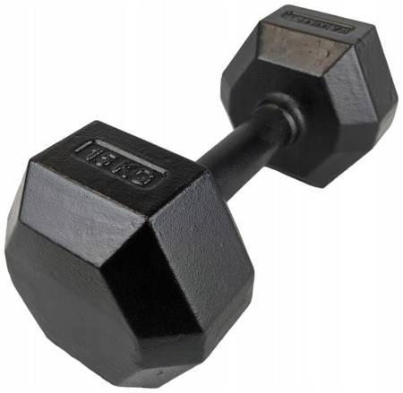 Hantla żeliwna hexagonalna HEX 15 kg