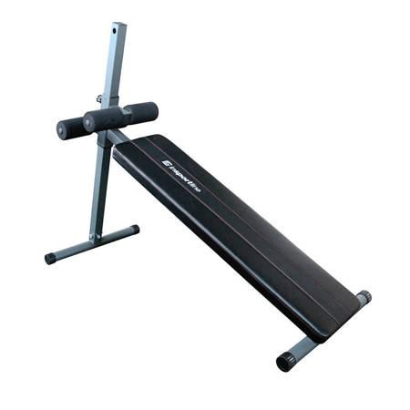 Ławka  treningowa skośna do ćwiczeń mięśni brzucha Ab Crunch Bench Insportline