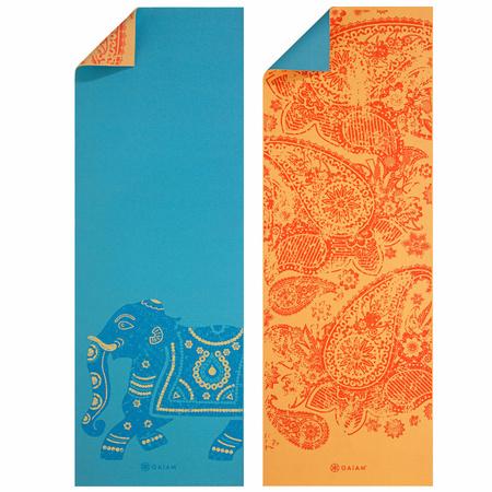 Mata do jogi dwustronna Elephant Gaiam 173x61x0,6cm