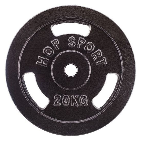Obciążenie żeliwne 20kg (31 mm) Hop-Sport
