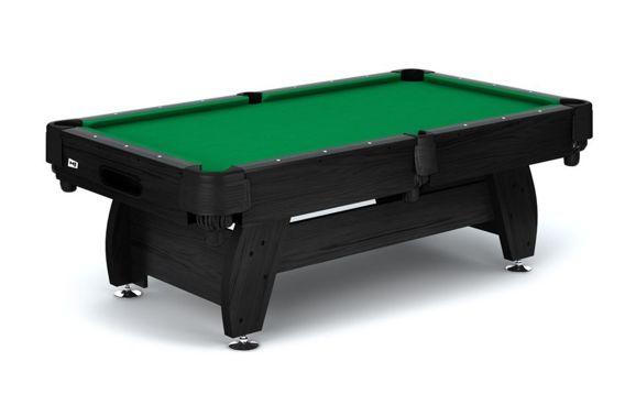 Stół bilardowy koszykowy Vip 8ft czarno - zielony Spensers