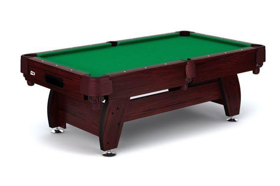 Stół bilardowy koszykowy Vip 8ft wiśniowo - zielony Spansers